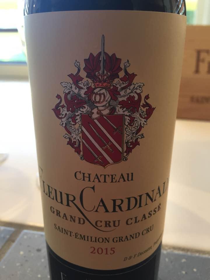 Château Fleur Cardinale 2015 – Saint-Emilion Grand Cru Classé