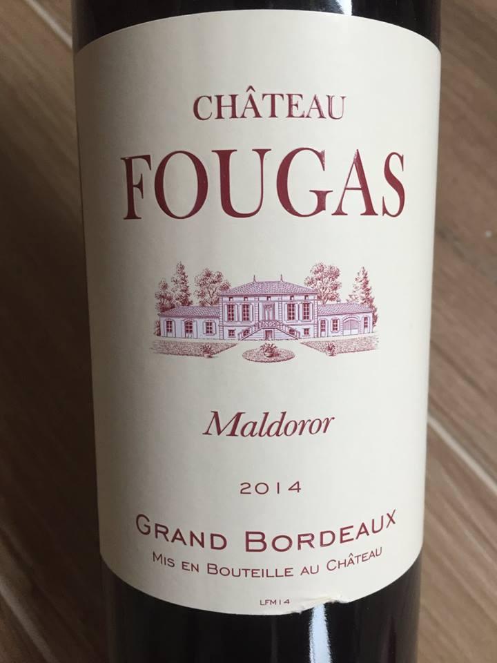 Château Fougas – Maldoror 2014 – Côtes de Bourg
