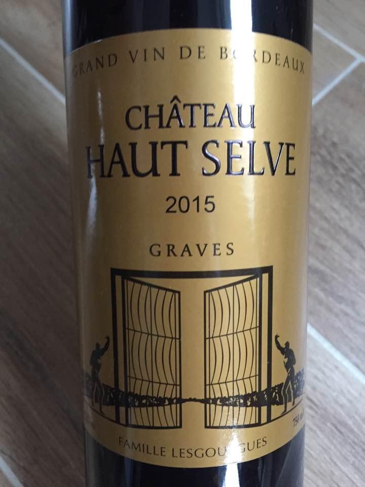 Château Haut Selve 2015 – Graves