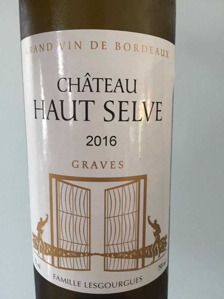 Château Haut Selve 2016 – Graves