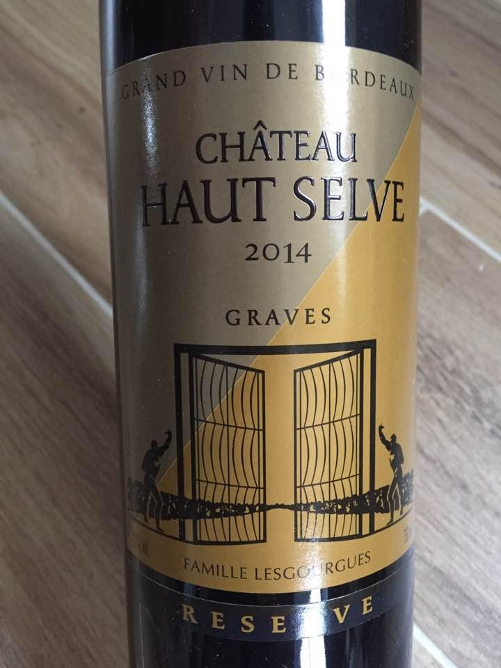 Château Haut Selve – Reserve 2014 – Graves