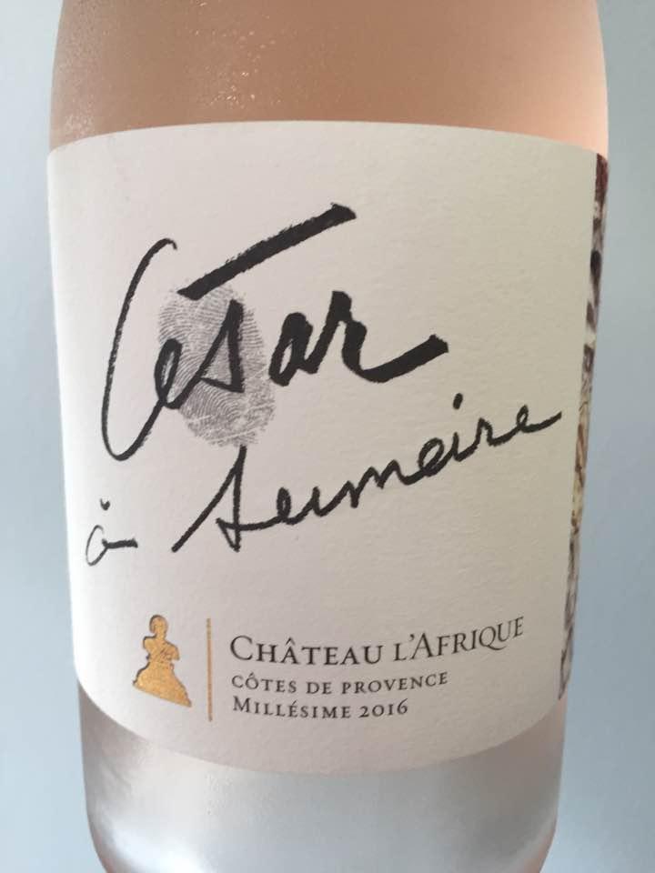 Château L'Afrique – César à Sumeire 2016 – Côtes de Provence