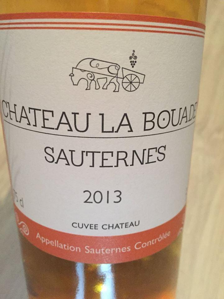 Château La Bouade 2013 – Sauternes