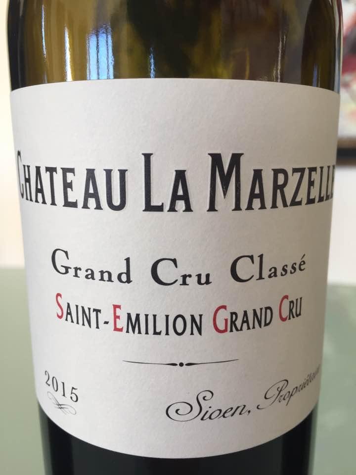 Château La Marzelle 2015 – Saint-Emilion Grand Cru, Grand Cru Classé