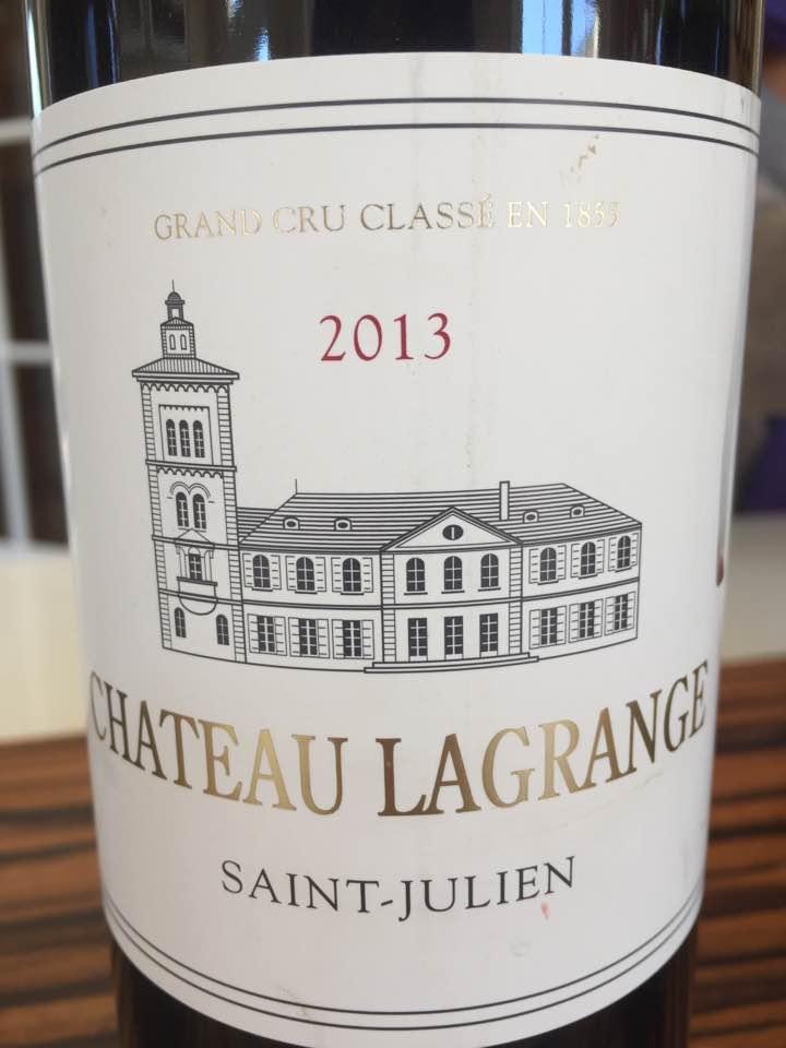 Château Lagrange 2013 – Saint-Julien, 3ème Grand Cru Classé