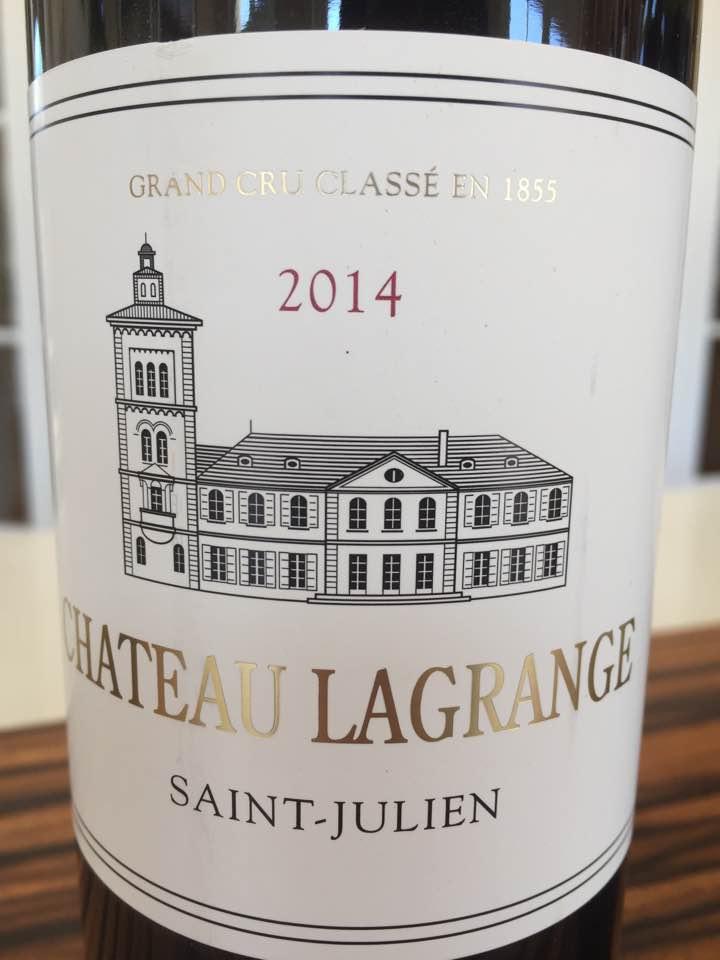 Château Lagrange 2014 – Saint-Julien, 3ème Grand Cru Classé