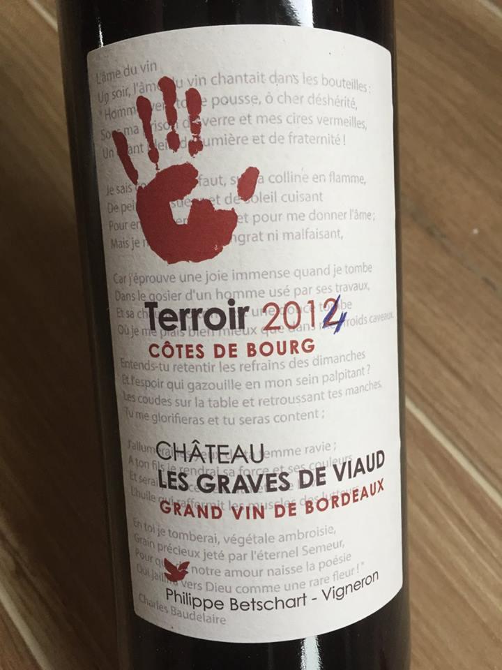 Château Les Graves de Viaud – Terroir 2014 – Côtes de Bourg
