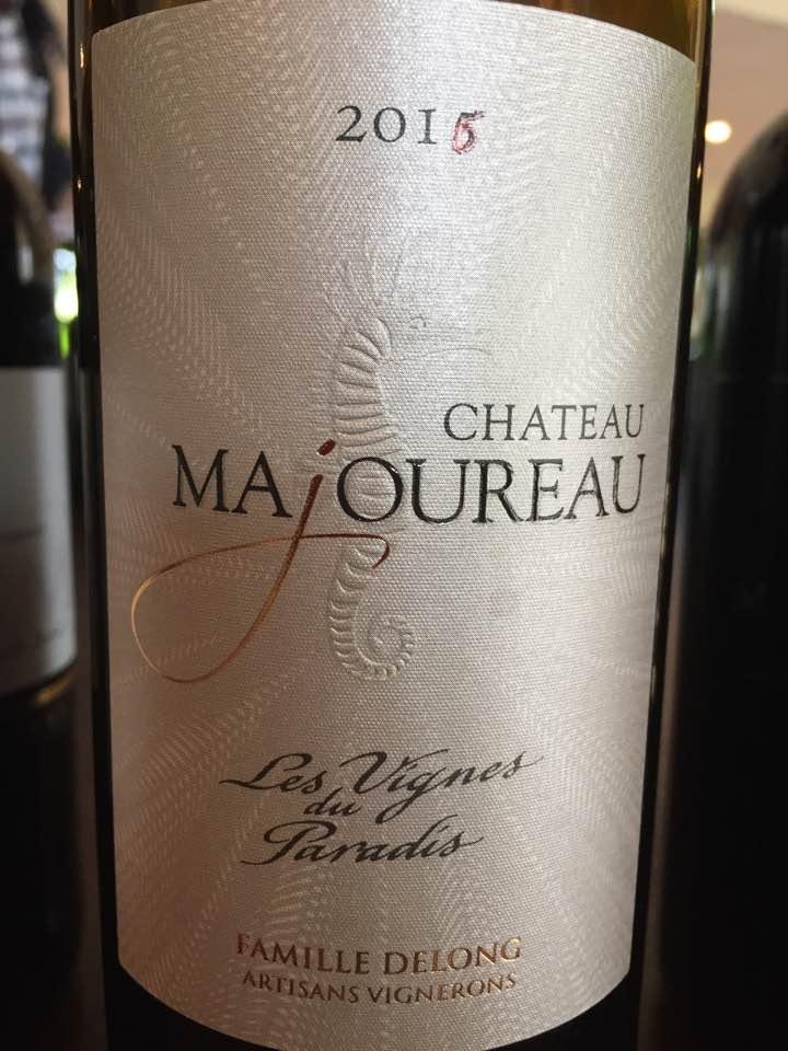 Château Majoureau – Les Vignes du Paradis 2016 – Bordeaux Supérieur