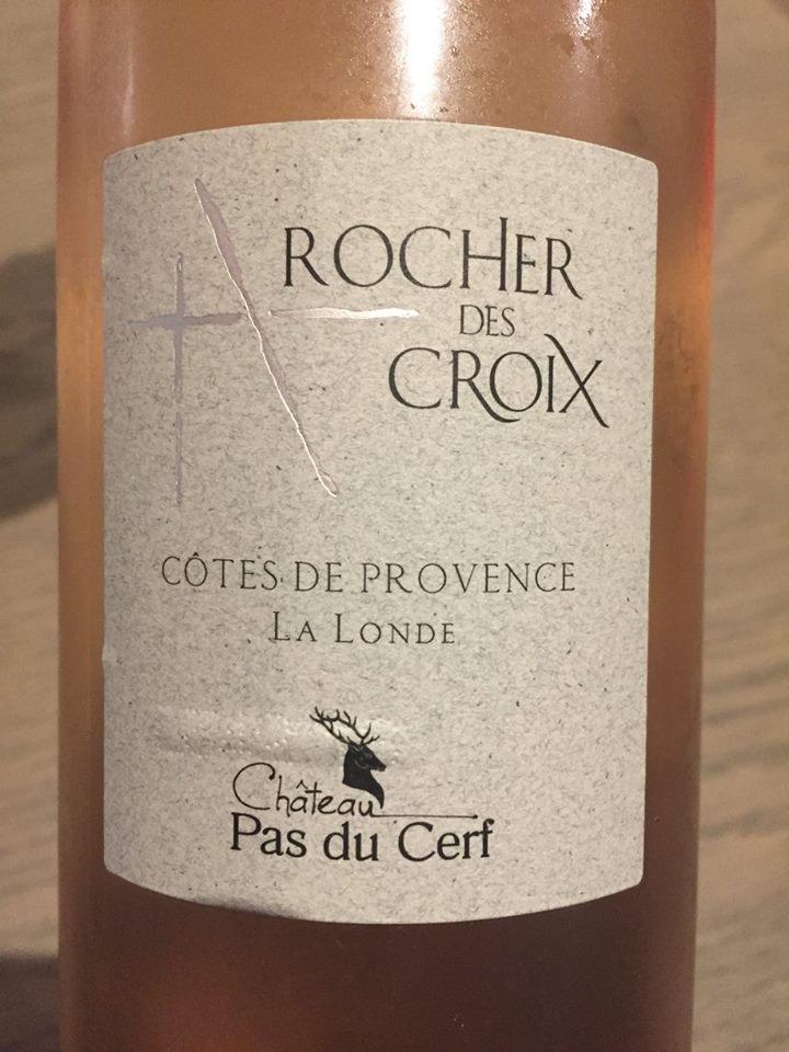 Château Pas du Cerf – Rocher des Croix 2016 – Côtes de Provence La Londe