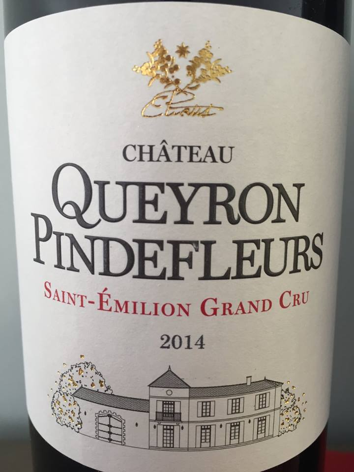 Château Queyron Pindefleurs 2014 – Saint-Emilion Grand Cru