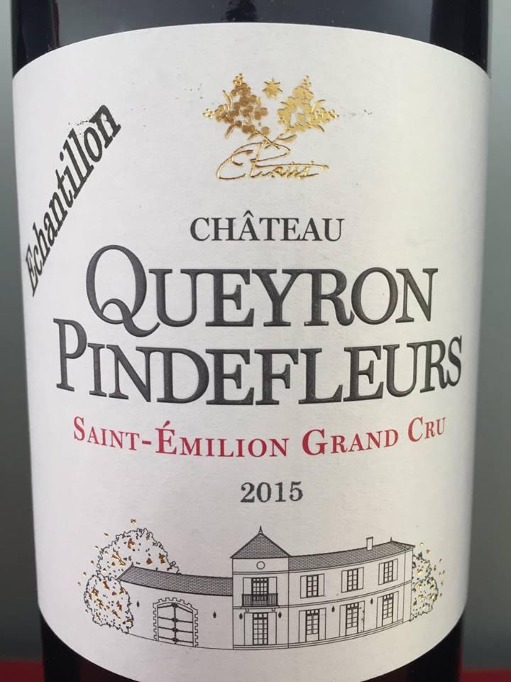 Château Queyron Pindefleurs 2015 – Saint-Emilion Grand Cru