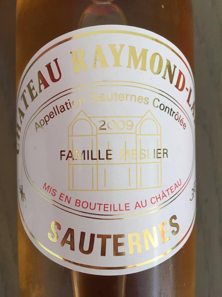 Château Raymond-Lafon 2009 – Sauternes