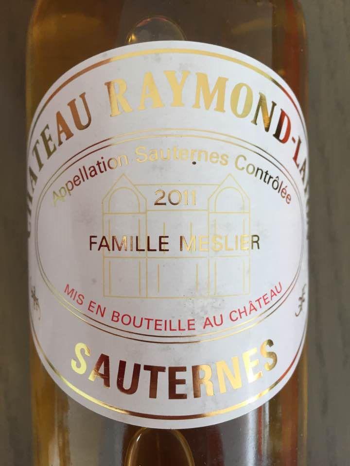 Château Raymond-Lafon 2011 – Sauternes