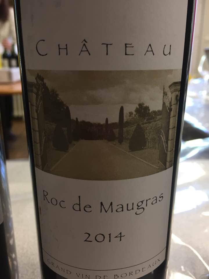 Château Roc de Maugras 2014 – Castillon Côtes-de-Bordeaux