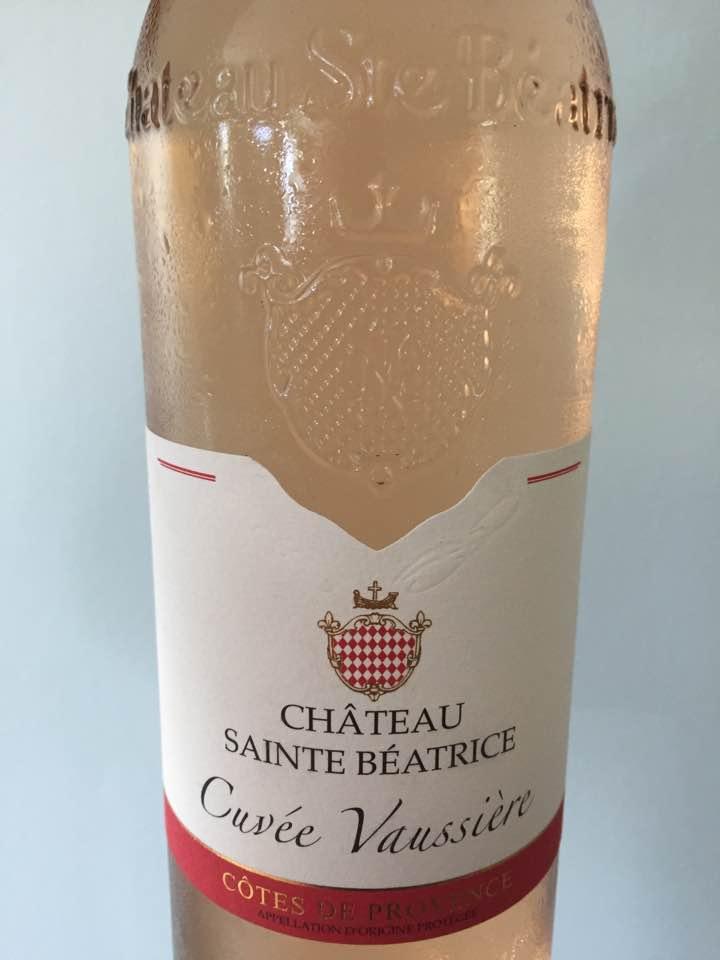 Château Sainte Béatrice – Cuvée Vaussière 2016 – Côtes de Provence