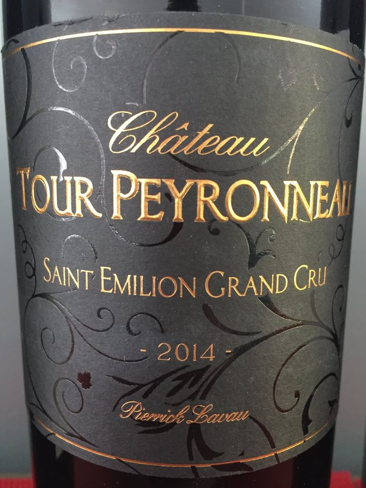Château Tour Peyronneau – Cuvée Pierrick Lavau 2014 – Saint-Emilion Grand Cru