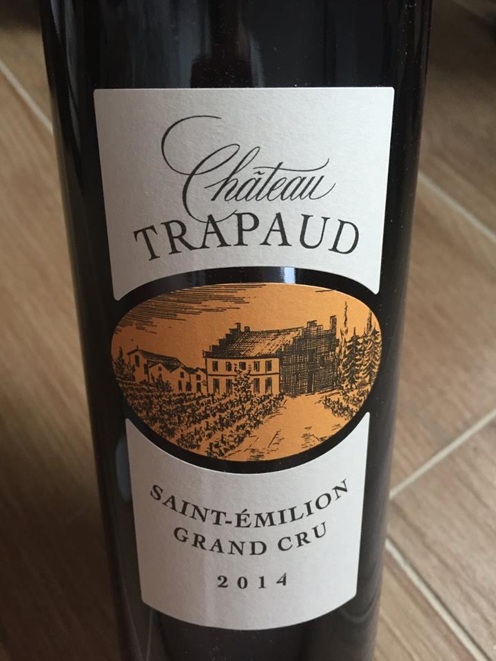 Château Trapaud 2014 – Saint-Emilion Grand Cru