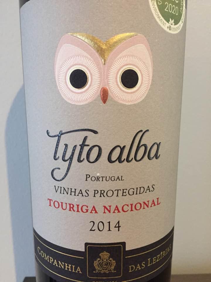 Companhia Das Lezirias – Tyto Alba – Touriga Nacional 2014 – Tejo