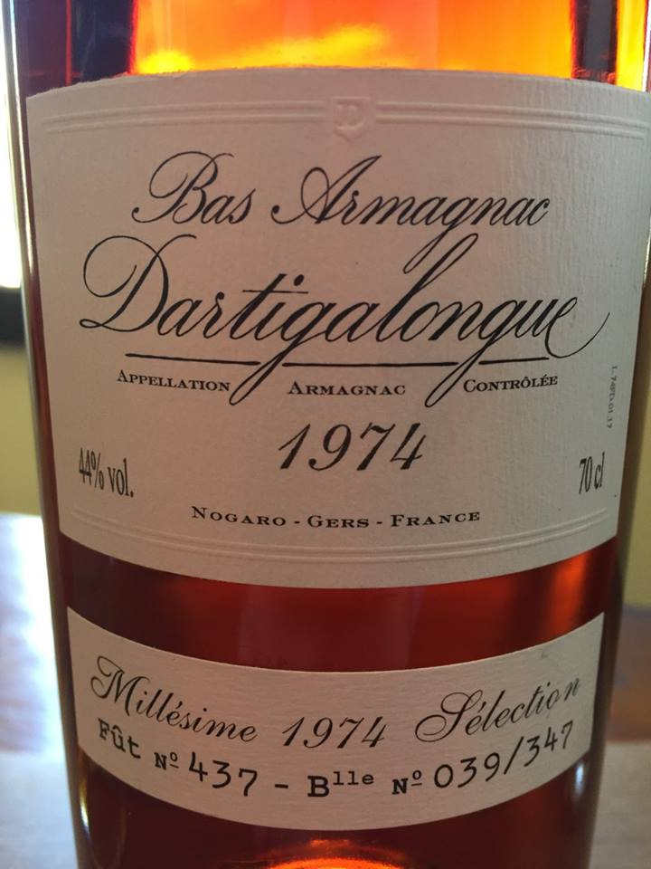 Dartigalongue 1974  – Bas-Armagnac