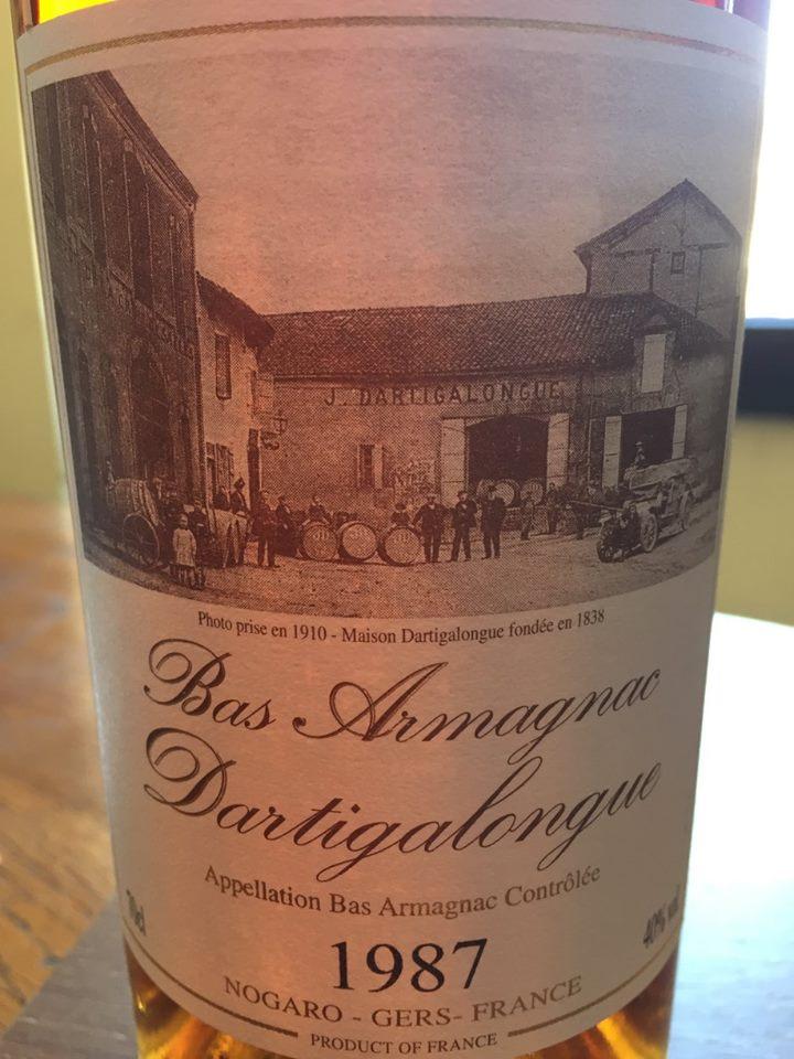 Dartiglongue 1987– Bas-Armagnac