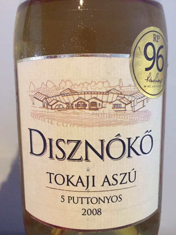 Disznoko – 5 Puttonyos 2008 – Tokaji Aszu