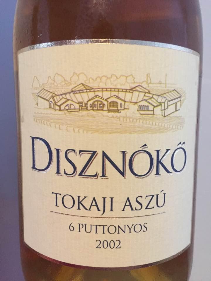 Disznoko – 6 Puttonyos 2002 – Tokaji Aszu