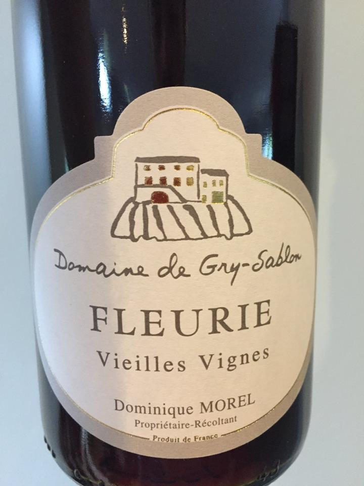 Domaine de Gry-Sablon – Vieilles Vignes 2016 – Fleurie