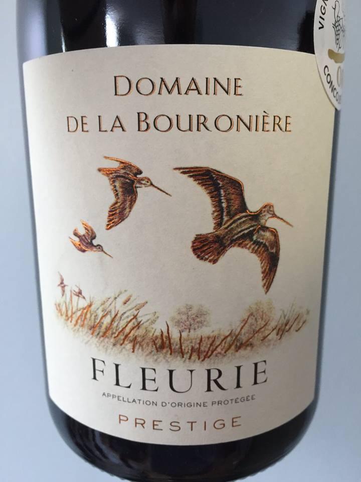 Domaine de la Bouronière – Prestige 2013 – Fleurie