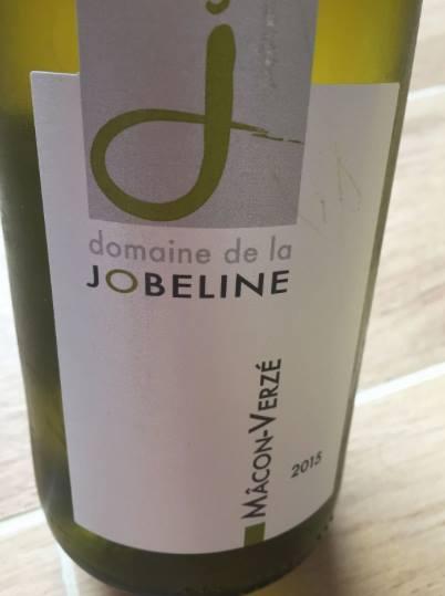 Domaine de la Jobeline 2015 – Mâcon Verzé