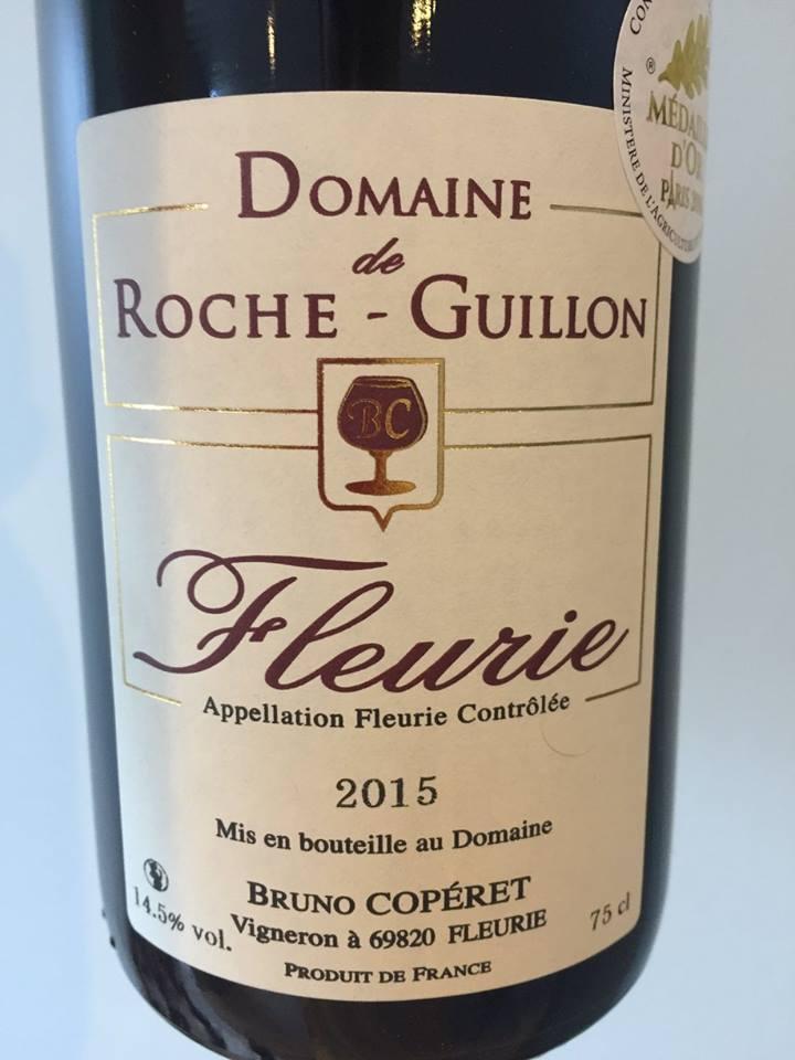 Domaine de Roche-Guillon 2015 – Fleurie