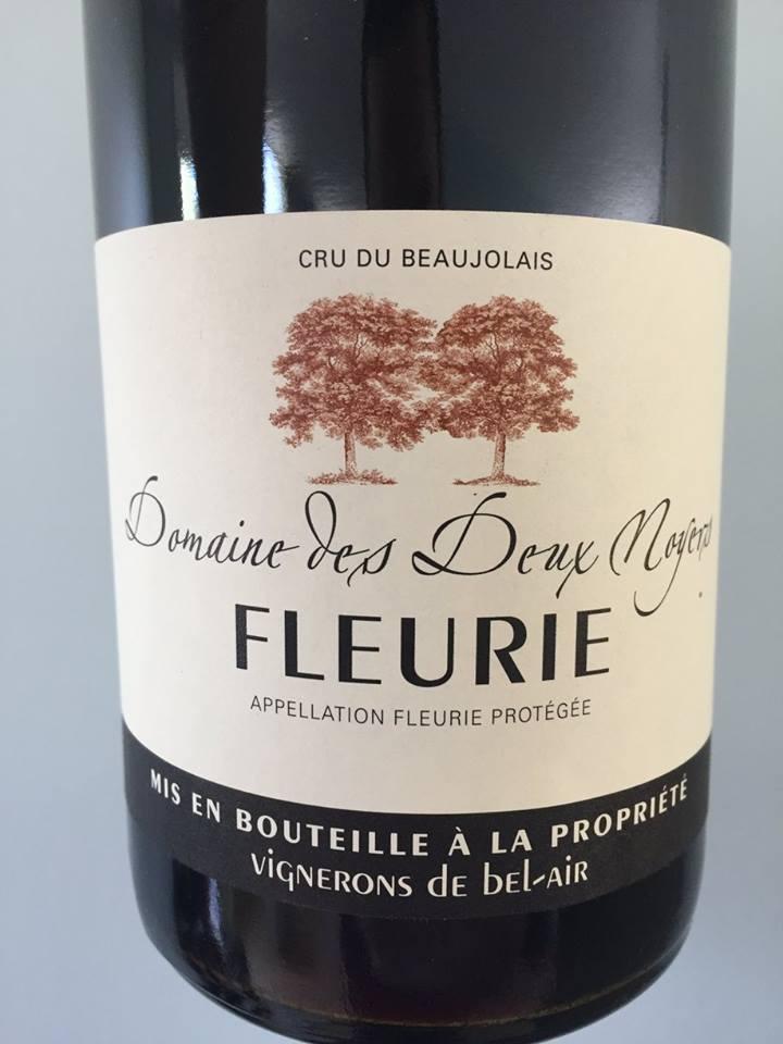Domaine des Deux Noyers 2015 – Fleurie