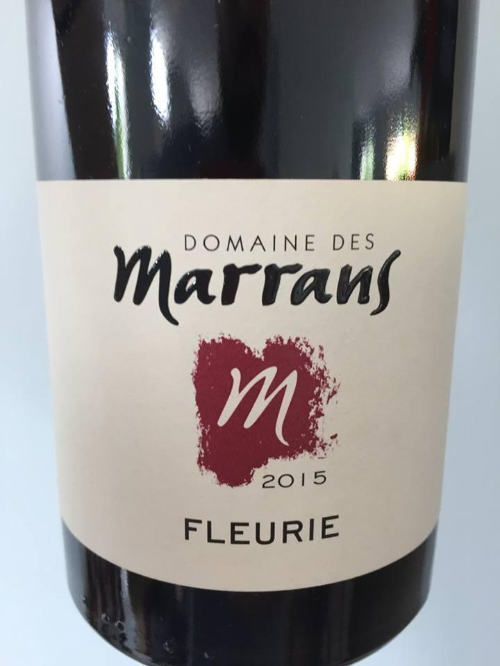 Domaine des Marrans 2015 – Fleurie