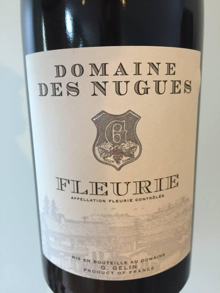 Domaine des Nugues 2014 – Fleurie