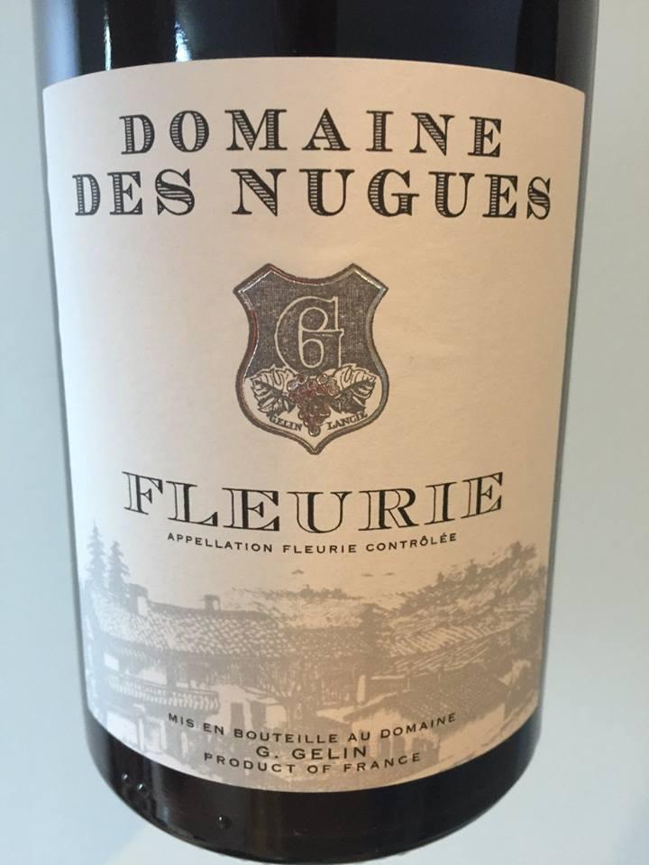 Domaine des Nugues 2015 – Fleurie