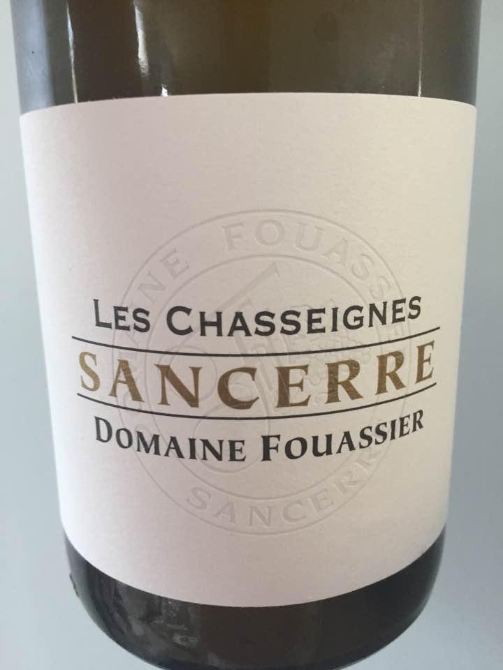 Domaine Fouassier – Les Chasseignes 2015 – Sancerre