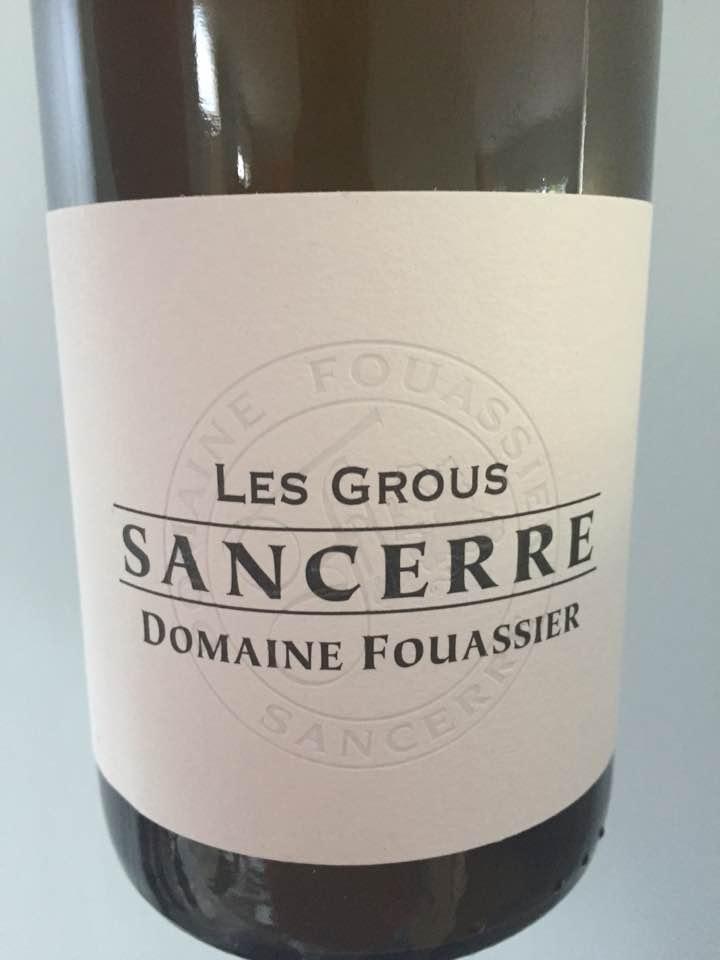 Domaine Fouassier – Les Grous 2015 – Sancerre