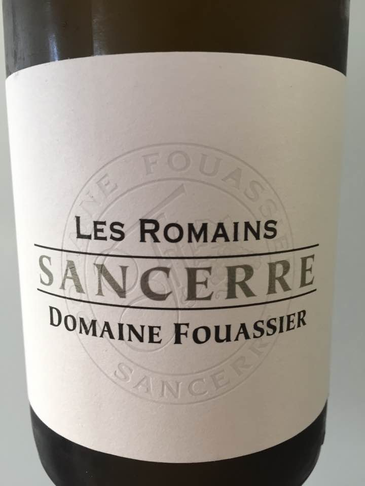 Domaine Fouassier – Les Romains 2015 – Sancerre