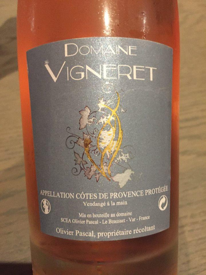 Domaine Vigneret 2016 – Côtes de Provence