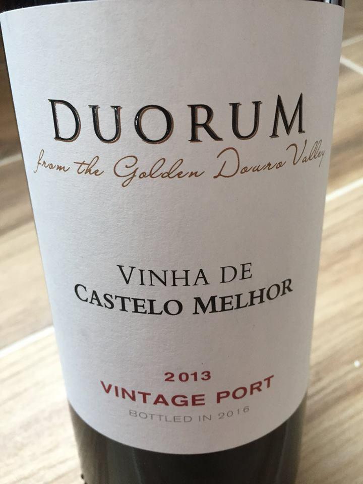Duorum – Vinha de Castelo Melhor 2013 – Vintage Port