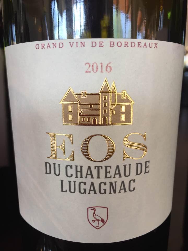 Eos du Château de Lugagnac 2016 – Bordeaux Supérieur