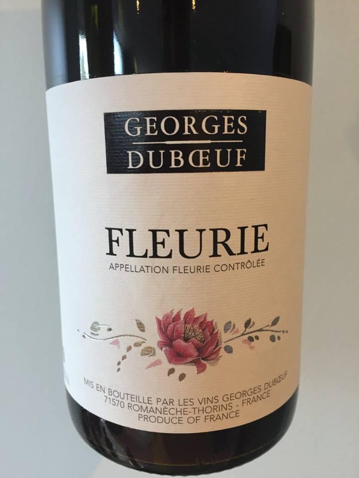 George Duboeuf 2015 – Fleurie
