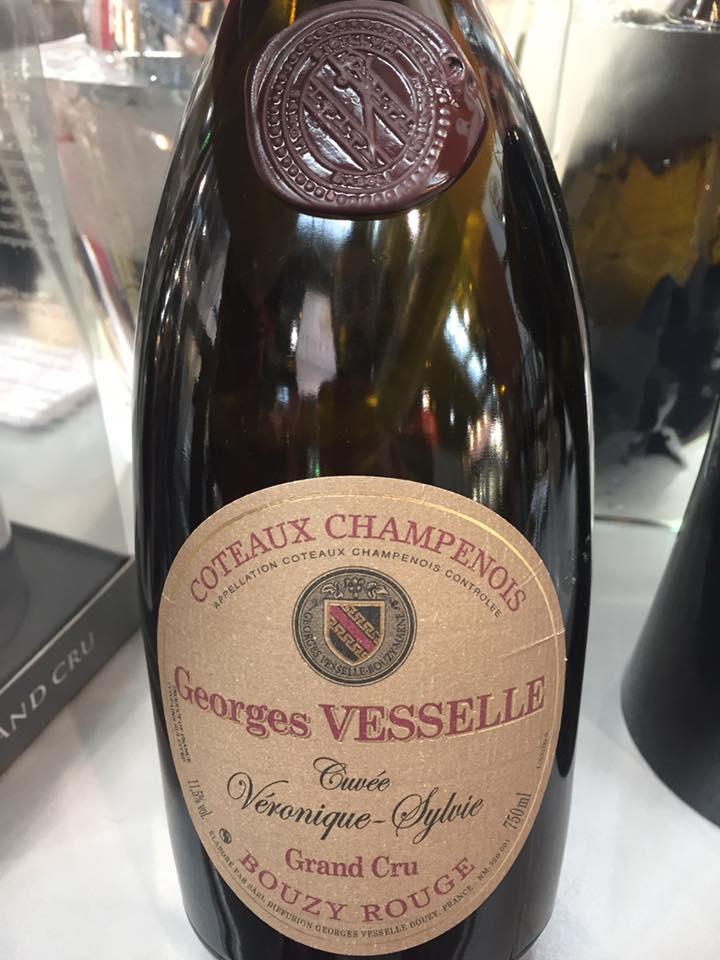 George Vesselle – Cuvée Véronique-Sylvie – Grand Cru – Bouzy Rouge – Coteaux Champenois