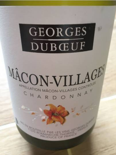 Georges Duboeuf – Chardonnay 2015 – Mâcon-Villages