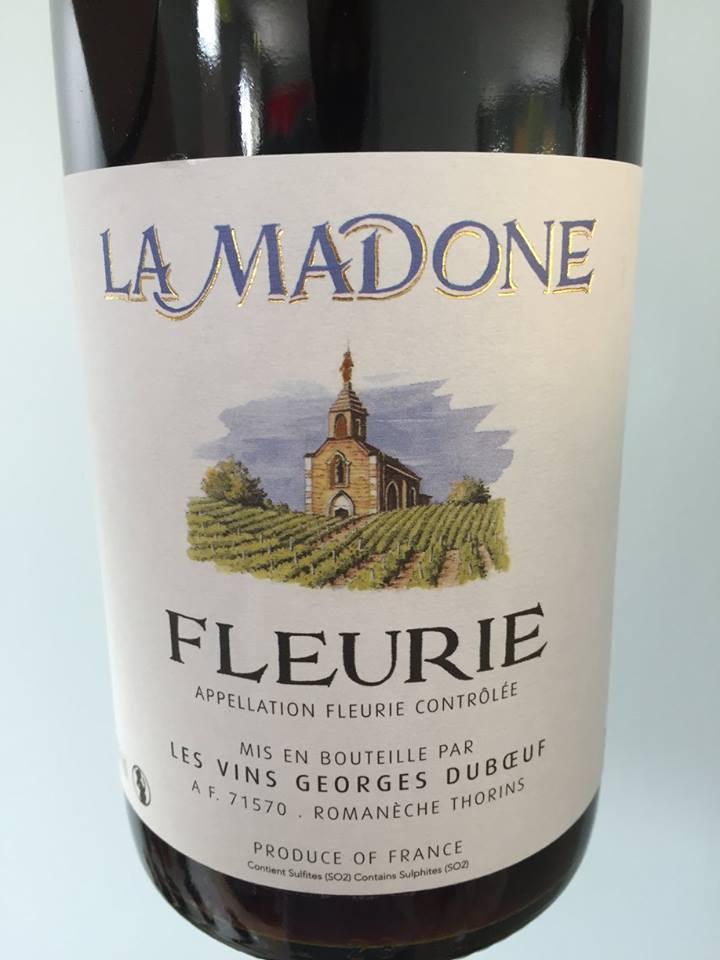 Georges Duboeuf – La Madone 2015 – Fleurie