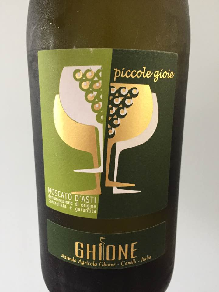Ghione – Piccole Gioie 2016 – Moscato d'Asti