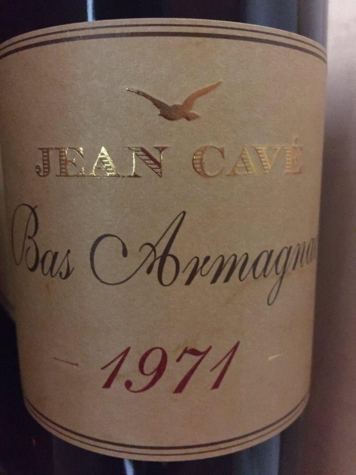 Jean Cavé 1971 – Bas-Armagnac