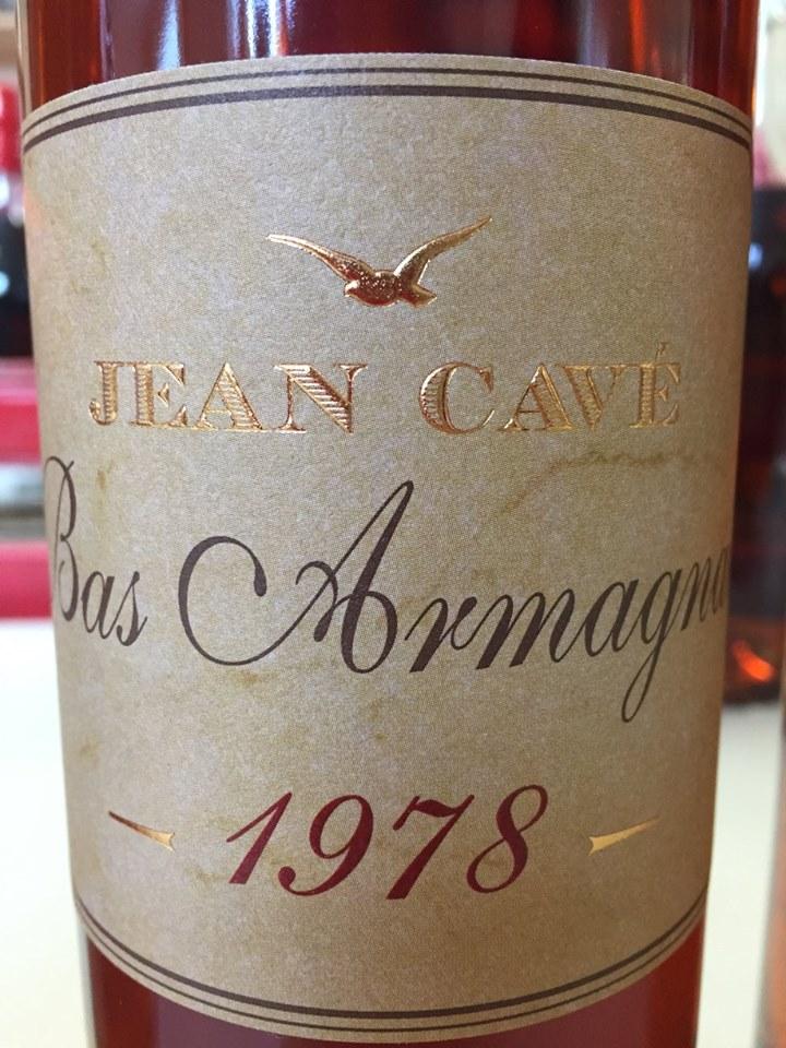 Jean Cavé 1978 – Bas-Armagnac