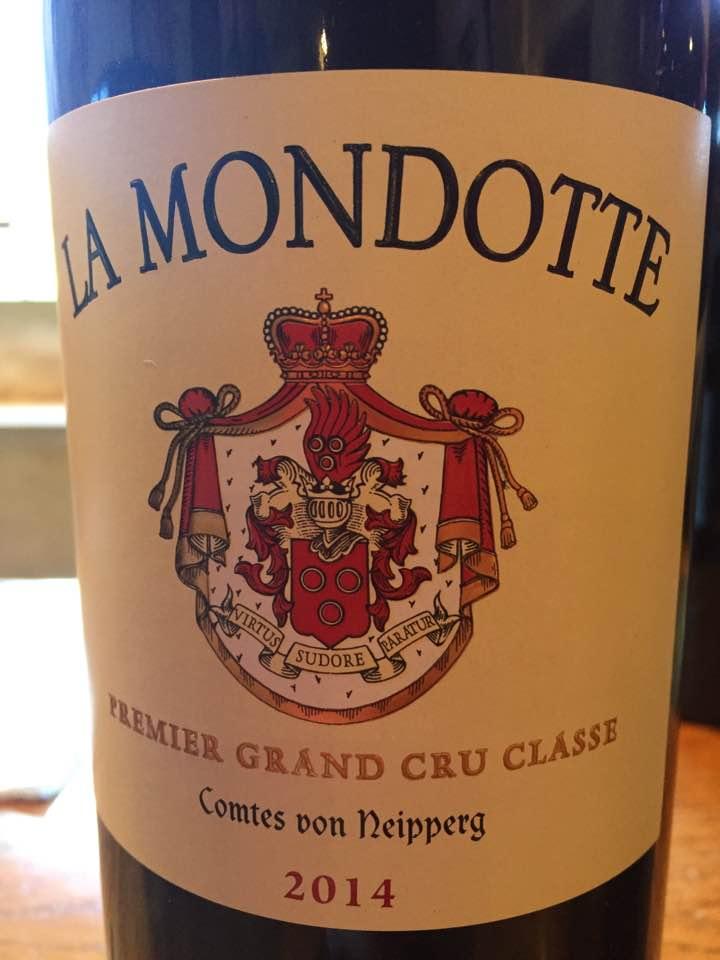 La Mondotte 2014 – 1er Grand Cru Classé de Saint-Emilion