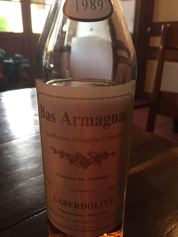 Laberdolive 1989 – Bas-Armagnac