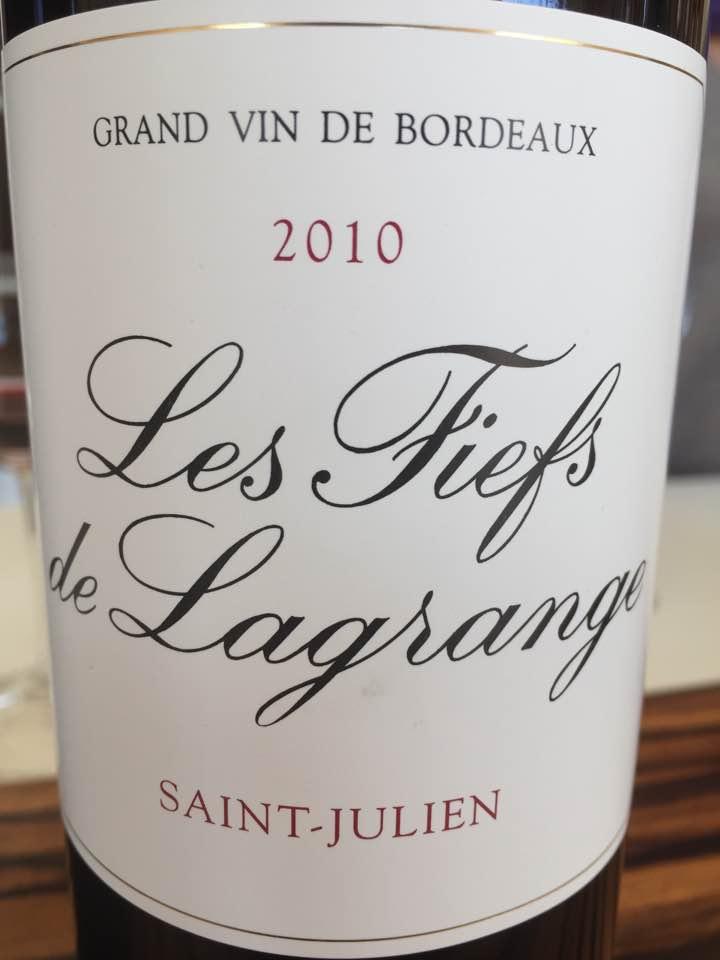 Les Fiefs de Lagrange 2010 – Saint-Julien